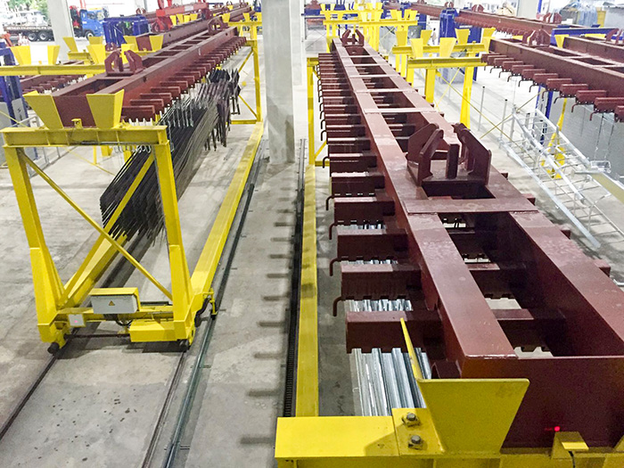 ANI METAL- Conveyors and Transfer Trolleys