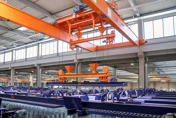 ANI METAL- SCHEFFER Automatic Cranes Systems