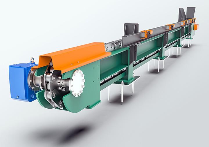3D Conveyor Rendering